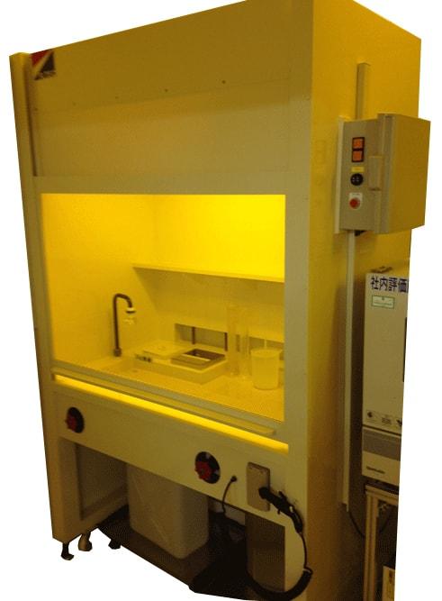 PVC製ドラフトチャンバー廃液回収システム
