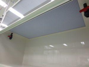 天井からの水道等配管